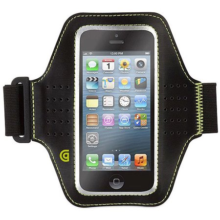 Griffin Armband - Griffin Trainer Armband for Apple iPhone 5SE/5s/5/5C, Black