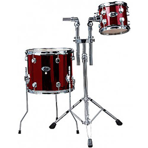 "ddrum D2 Add On Pack Including 8"" Tom and 14"" Tom - Blood Red"