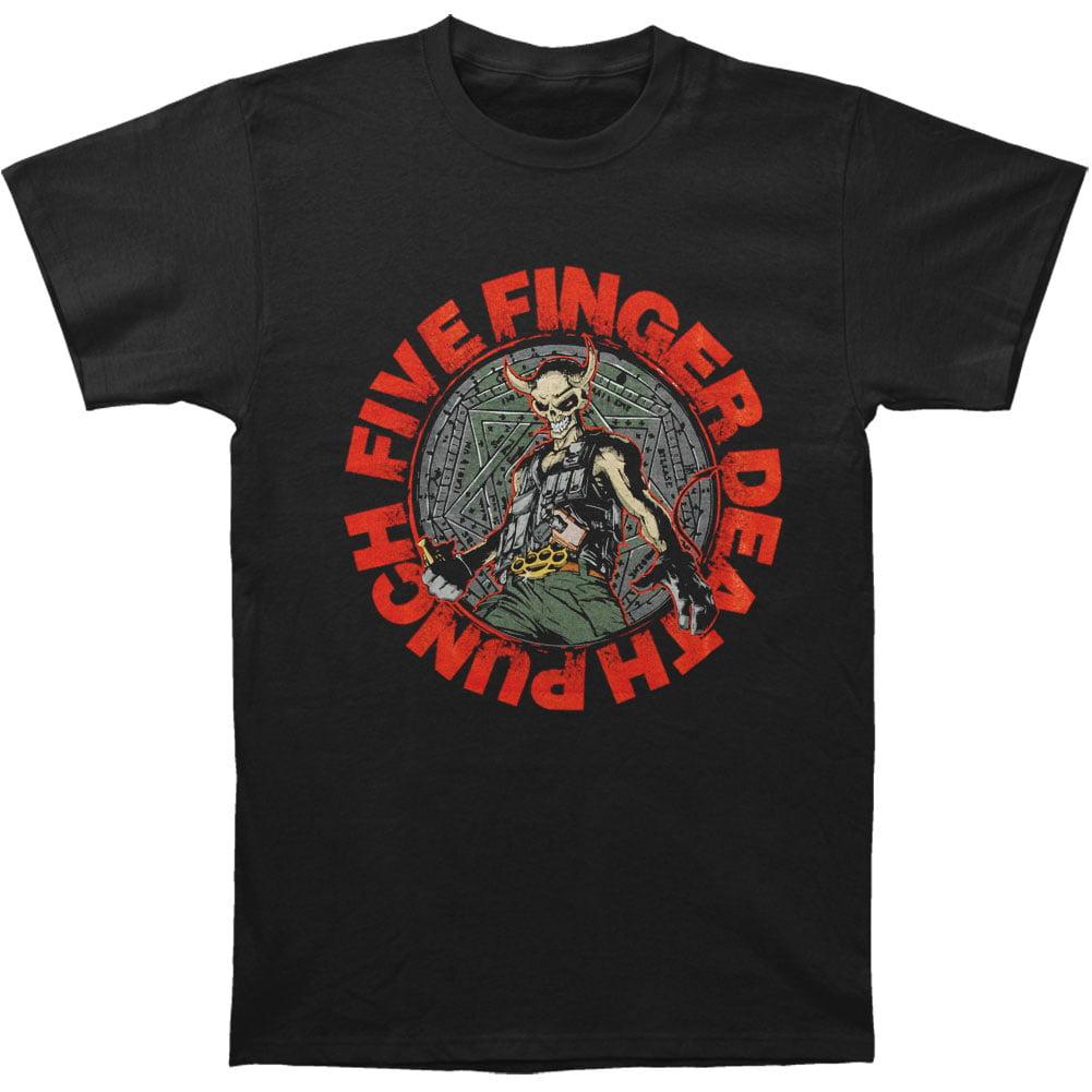 Five Finger Death Punch Men's  Seal Of Ameth T-shirt Black
