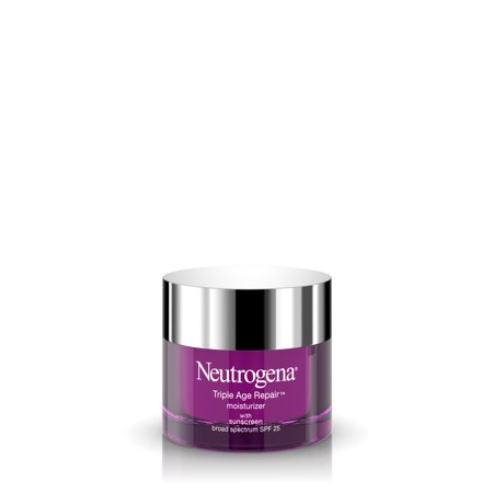 Neutrogena Triple Age Repair Anti Wrinkle Moisturizer with SPF 25, 1.7 oz Anti Aging Zinc Moisturizer