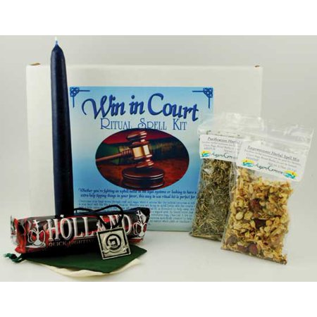 Party Games Accessories Halloween Séance Boxed Magic Spell Kit Win In Court Legal - Supreme Court Halloween