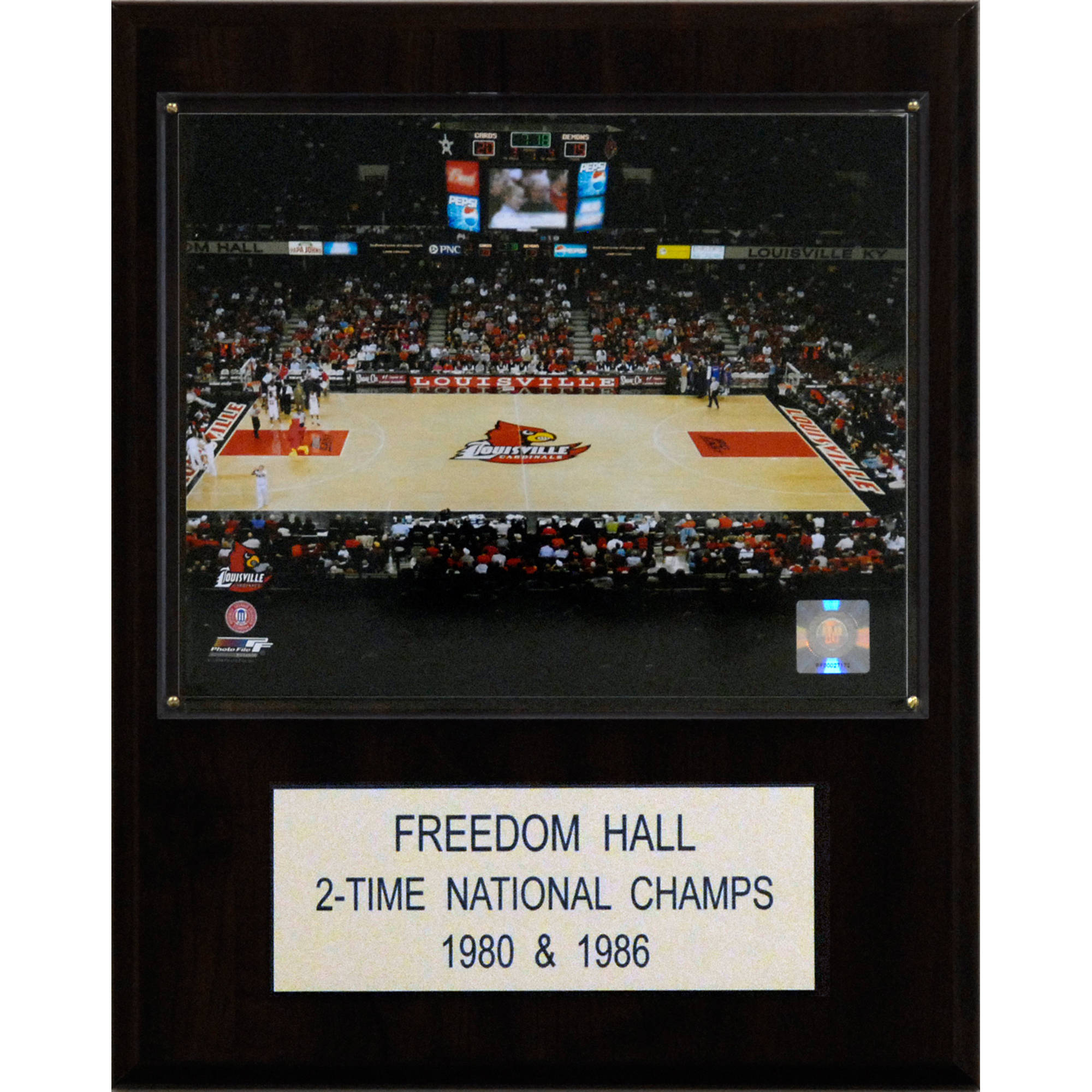 C&I Collectables NCAA Basketball 12x15 Freedom Hall Arena Plaque