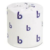 Boardwalk Standard 1-Ply Toilet Paper Rolls, 96 Rolls (BWK6170)