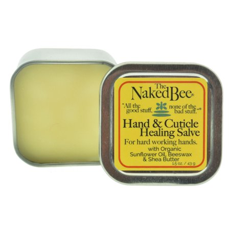 (The Naked Bee All Natural Hand & Cuticle Healing Salve)