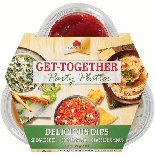Italian Rose Get-Together Party Platter, 1.3 lbs