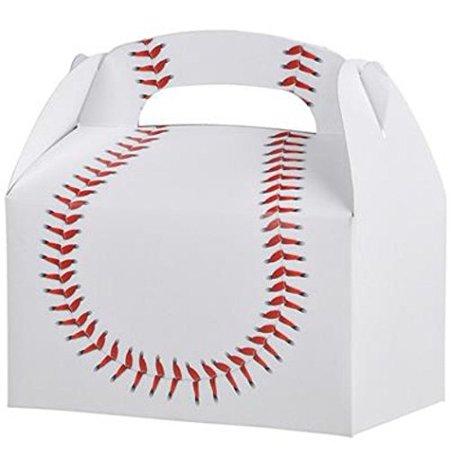 30 BASEBALL TREAT BOXES 2.5 DOZEN BY, 30 BASEBALL TREAT BOXES By DISCOUNT PARTY AND - Discount Party