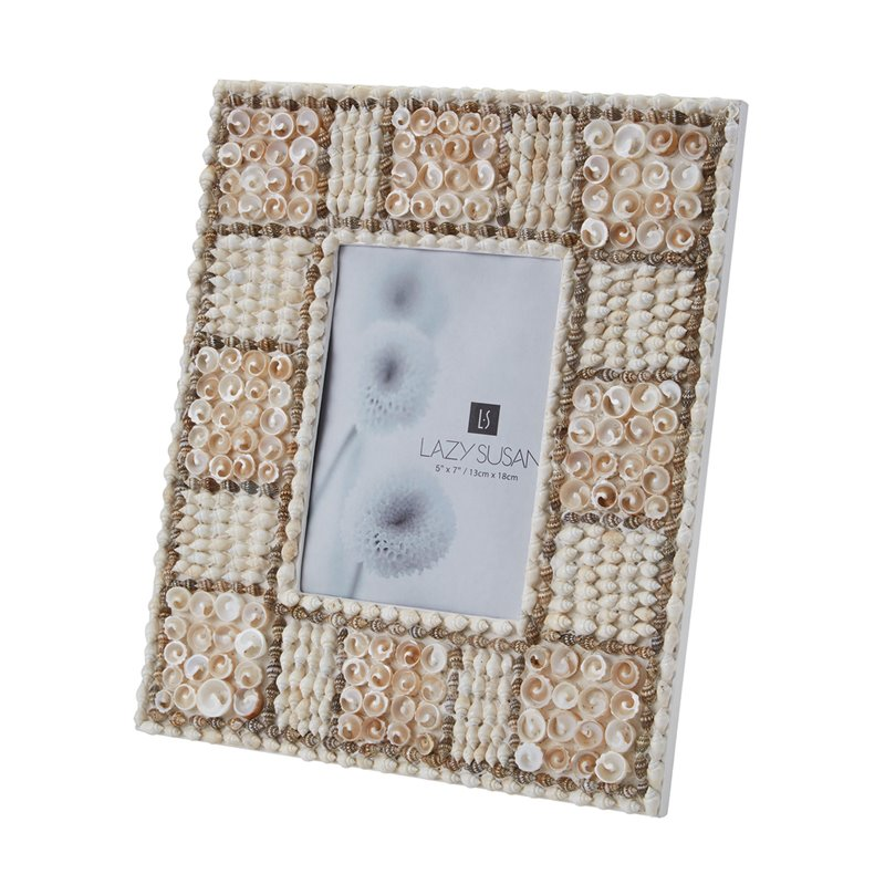 Dimond Home 5X7 Natural Shell Mosaic Frame 163-012