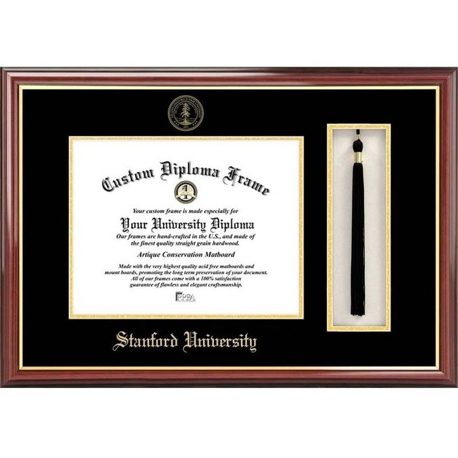 "Stanford University 8.5"" x 11"" Tassel Box and Diploma Frame"