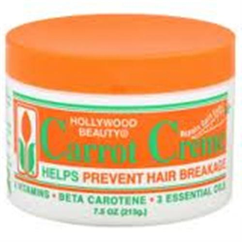 Hollywood Beauty Carrot Creme 7.5 oz (Pack of 2)