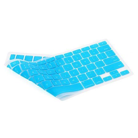 "LIVEDITOR TPU Sky Blue Keyboard Protector for Apple Macbook Air (11"", 13"") and Mac Pro - image 3 of 4"