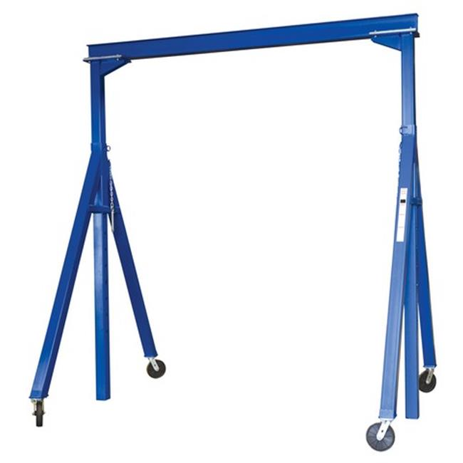 Vestil AHS-4-10-12 Adjustable Height Steel Gantry Crane, 10 x 12 ft.- 4000 lbs by Vestil