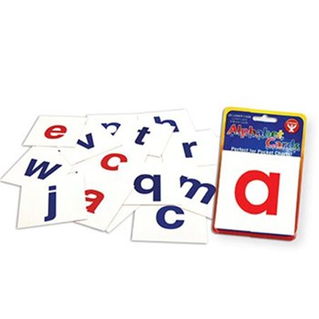 Hygloss Products  Inc. HYG61493 Alphabet Cards A-Z Lower Case (Alphabet Letter Cards)