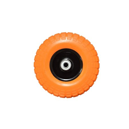 Replacement Hand Truck Tire Utility Wheel and Tire 4.10/3.50-4 (Flat Free Design), 10