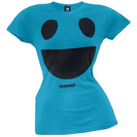 Big Scoop (deadmau5 - Big Face Juniors Scoop Neck T-Shirt )