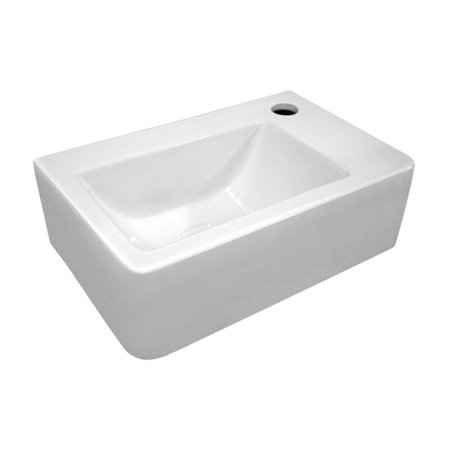 Whitehaus Collection Isabella WH-1410 Wall Mount Sink - White