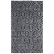 Kosas Home  Onix Over Tufted Wool Blend Rug (8' x 10')