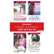 Harlequin Kimani Romance June 2016 Box Set - eBook