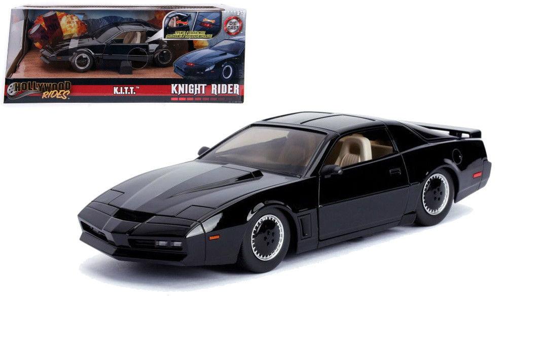 KITT 1982 1:24 Scale Hollywood Rides Diecast Vehicle Knight Rider
