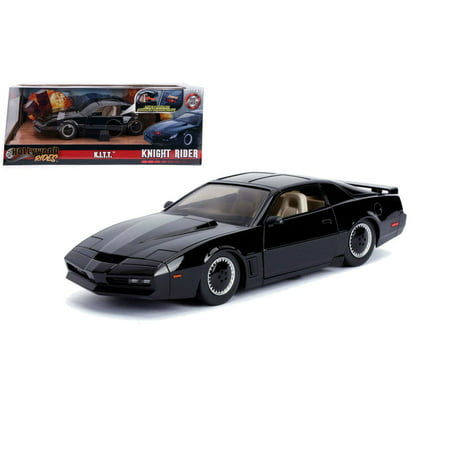 Jada Hollywood Rides 1:24 Scale Knight Rider K.I.T.T. 1982 Pontiac Firebird with Scanner Lights Diecast Model - Tech Firebird