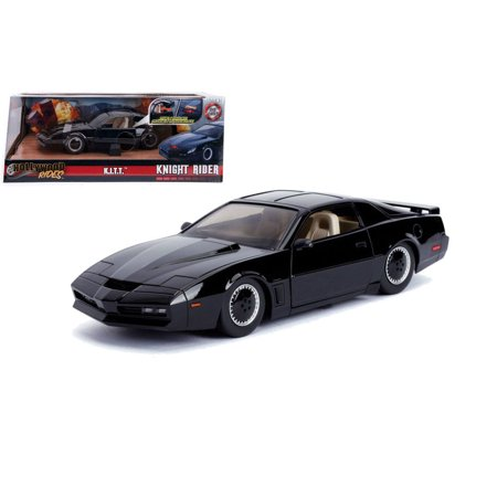 1982 82 Lincoln Town Car - Jada Hollywood Rides 1:24 Scale Knight Rider K.I.T.T. 1982 Pontiac Firebird with Scanner Lights Diecast Model Car
