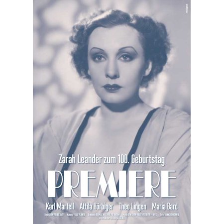 Premiere (1937) 11x17 Movie Poster (German)