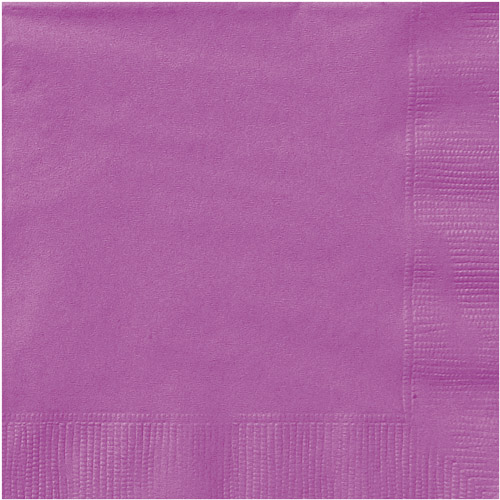 Paper Luncheon Napkins, 6.5 in, Red, 20ct