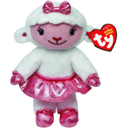 Ty Beanie Biies Ty Disney Doc McStuffins Lambie - Lamb - Doc Mcstuffin Lambie