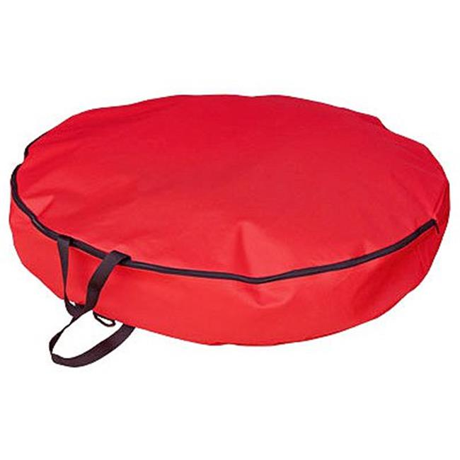 """SIMPLE LIVING SOLUTIONS LLC 30"""" RED Wreath Stor Bag 182105-S"""