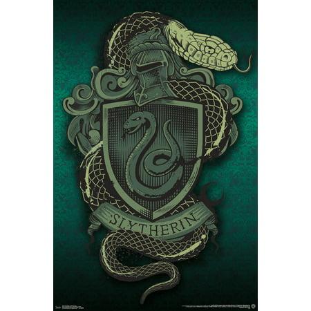 Harry Potter Image - Trends International Harry Potter Slytherin Snake Wall Poster 22.375