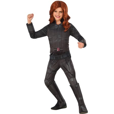 Deluxe Black Widow Child Halloween Costume - Black Widow Marvel Costumes