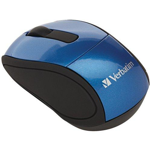 Verbatim 97471 Mouse - Optical Wireless - Blue Radio Frequency - Usb - Scroll Wheel