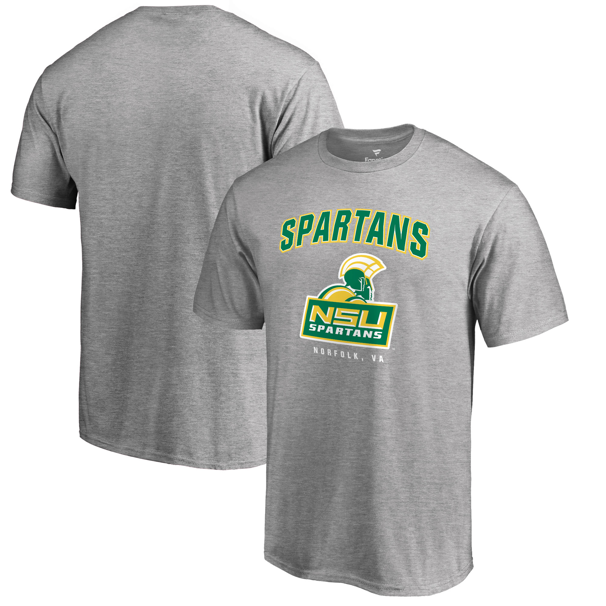 check out 17858 13545 Norfolk State Spartans Big & Tall Campus Icon T-Shirt - Ash