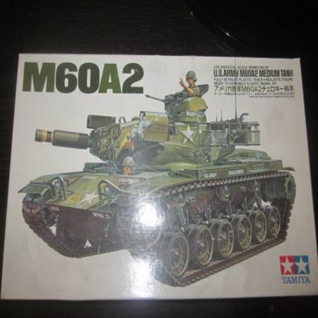 US Army M60A2 Medium Tank Ready to Assemble Plastic Model Kit by Tamiya