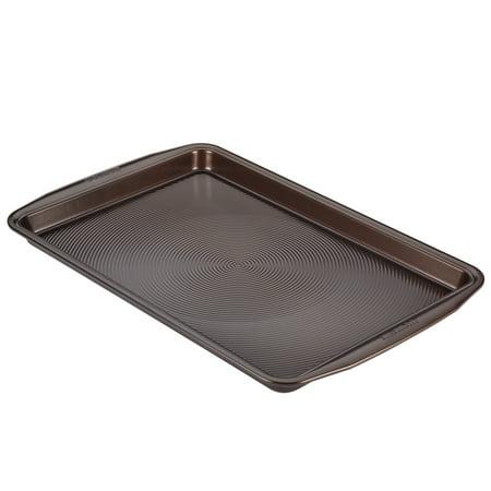 Circulon Nonstick Bakeware 11-Inch x 17-Inch Cookie Pan, Chocolate - Circulon Non Stick Bakeware