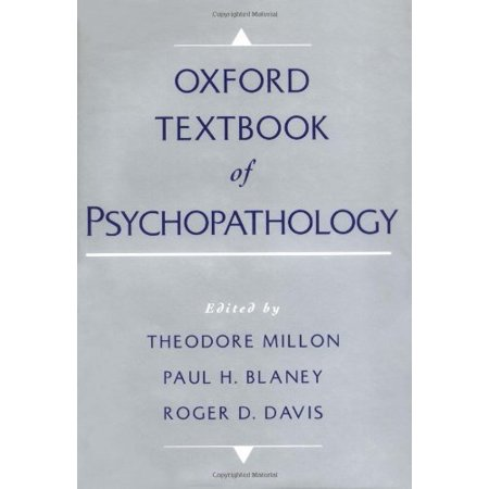 Oxford Textbook Of Psychopathology by Paul Blaney