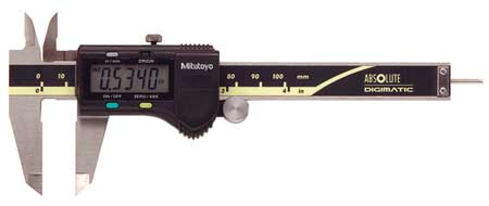 Mitutoyo Absolute Digital Caliper, Stainless Steel, 500-170-30 by Mitutoyo