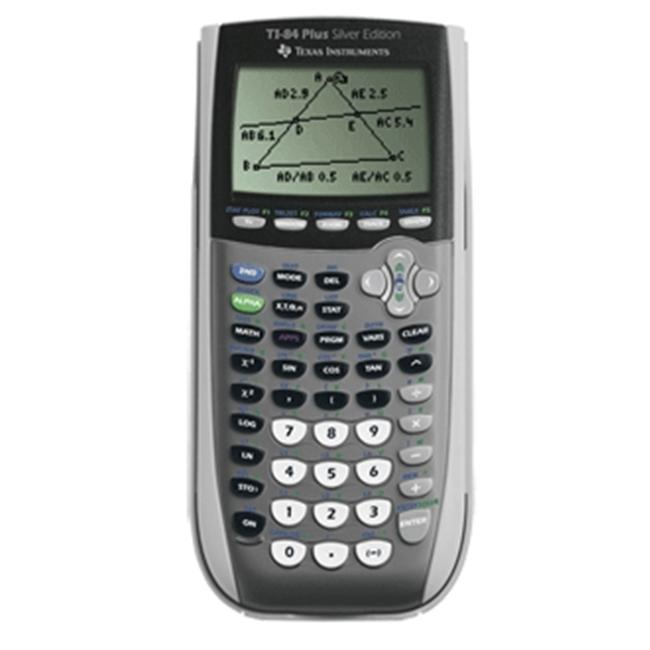 Texas Instruments 84 Plus Silver Edition ViewScreen Calculator