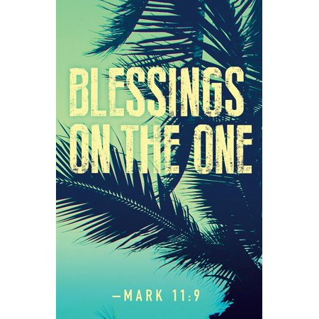 (The One Palm Sunday Images Bulletin (Pkg of 50) (Other))