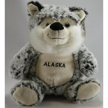 Super-Soft Plush - Sitting - Husky Plush