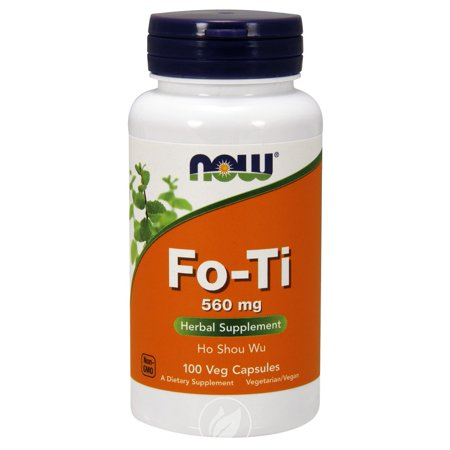 Now Foods - Fo-Ti, Ho Shou Wu, 560 mg, 100 Capsules, Pack of