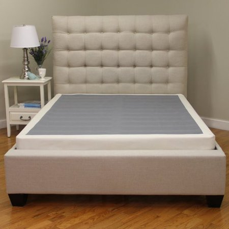 modern sleep instant foundation low profile 4 inch box spring replacement multiple sizes walmartcom - Bed Frame For Boxspring And Mattress