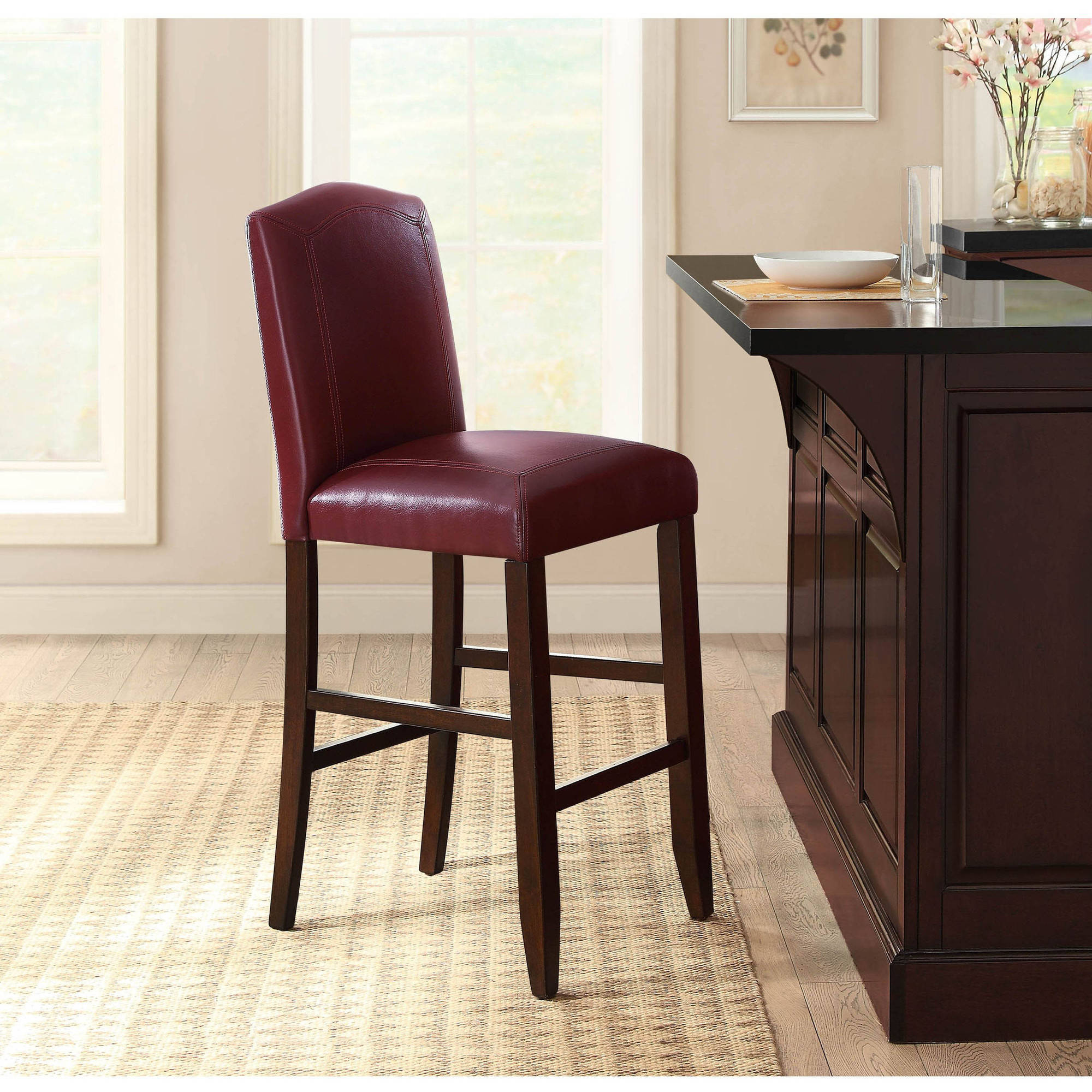Better Homes and Gardens Barstool, Red