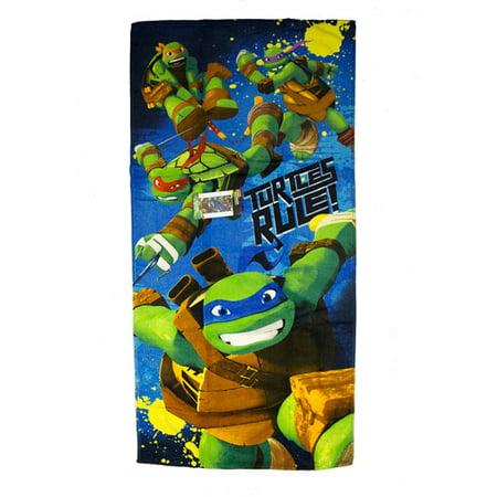 Nickelodeon Teenage Mutant Ninja Turtles Turtles Rule Beach Towel