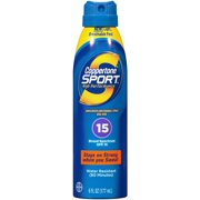 Coppertone Sport Continuous Spray SPF 15 6 oz (Pack of 6)