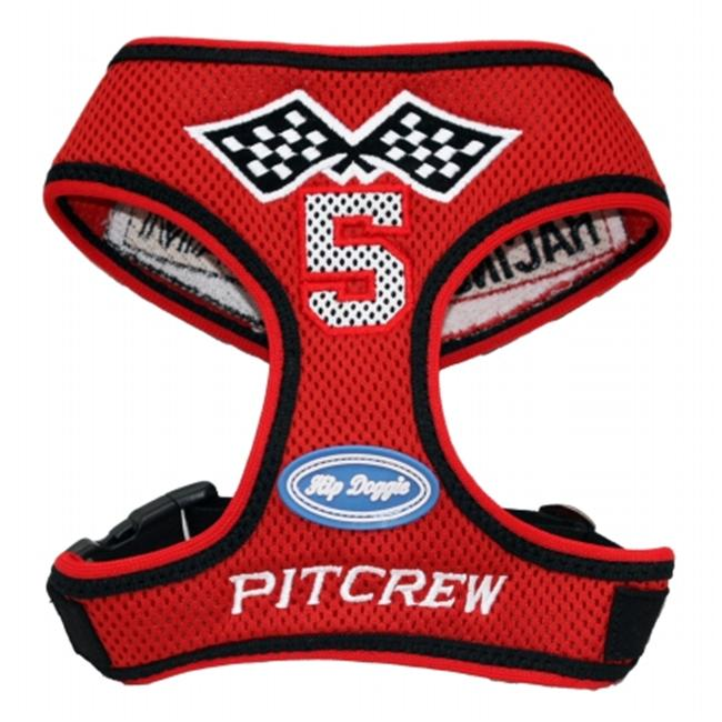 Hip Doggie HD-6RTH-S Small Racing Team Harness Mesh Vest
