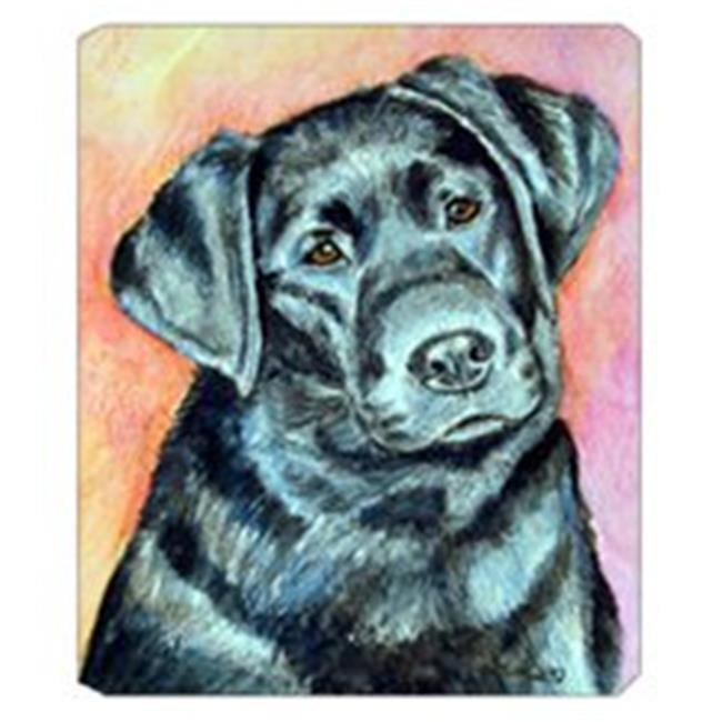 8 x 9.5 in. Black Labrador Mouse Pad, Hot Pad Or Trivet