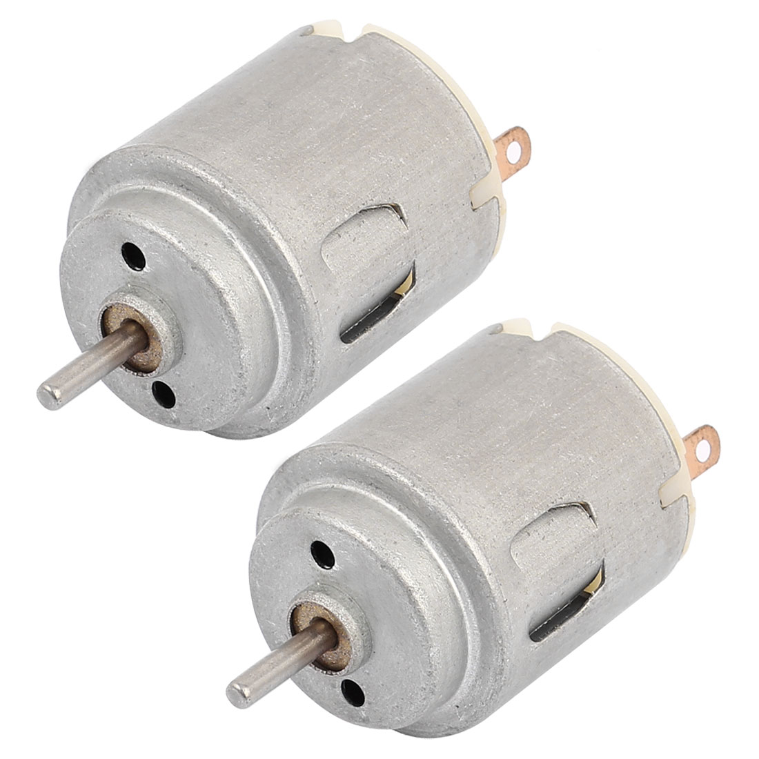 2 Pcs DC 3-6V 16500 RPM Rotary Speed High Torque Micro Motor For Toys