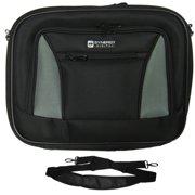 Dell Latitude E6420 ATG Laptop Case - Carry Handle & Adjustable Shoulder Strap - Black/Gray - Adjustable & Removable Interior Divider