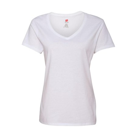 Hanes T-Shirts Nano-T Women's V-Neck T-Shirt