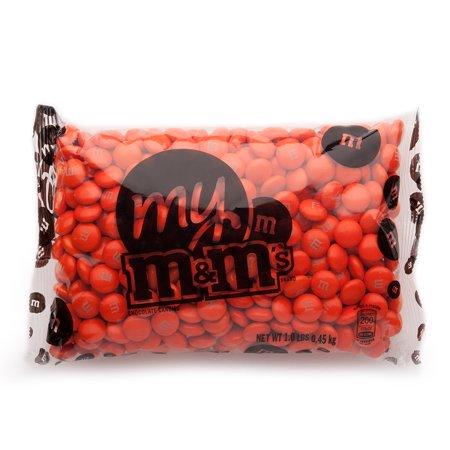 Orange M&M'S® Bulk Candy Bag - Orange Lollipop